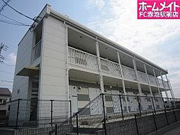 愛知県名古屋市緑区篠の風2丁目の賃貸アパートの外観