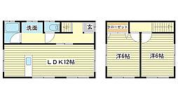 [一戸建] 兵庫県姫路市勝原区熊見 の賃貸【/】の間取り