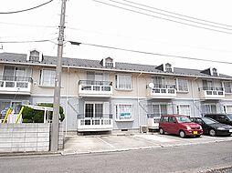 埼玉県志木市柏町4丁目の賃貸アパートの外観