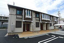 兵庫県加古川市尾上町養田の賃貸アパートの外観
