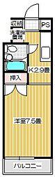 Stream Style310 B[213号室号室]の間取り