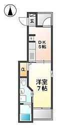 K2ハウス[2階]の間取り