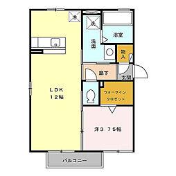 アンビシオン ベガ[2階]の間取り