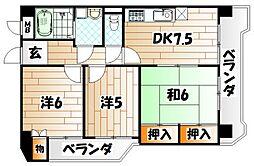 第2東宝ビル[8階]の間取り