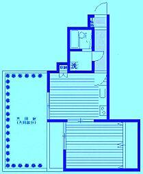 L-VINA溝ノ口[1階]の間取り