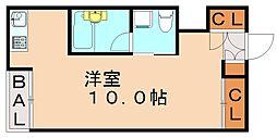 西片江アパートメント[1階]の間取り