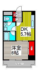 アイランドマンション[2階]の間取り