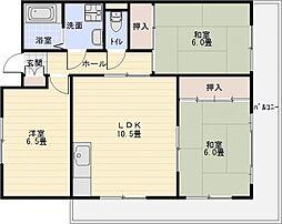 プラム離宮[2階]の間取り