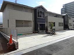 大阪府茨木市鮎川2丁目の賃貸アパートの外観