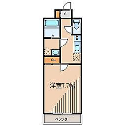 Espacio Machida(エスパシオマチダ)[9階]の間取り