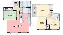 [一戸建] 福岡県福岡市西区今宿駅前1丁目 の賃貸【/】の間取り