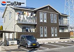愛知県岡崎市中島西町1丁目の賃貸アパートの外観
