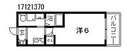 グランパシフィック北畠[5階]の間取り