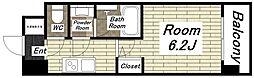 スプランディッド難波I[9階]の間取り