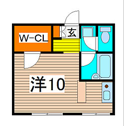 埼玉県さいたま市南区文蔵4丁目の賃貸マンションの間取り