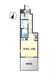長野県長野市吉田2丁目の賃貸アパートの間取り
