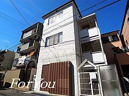 兵庫県神戸市灘区友田町1丁目の賃貸アパートの外観