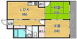 トモエマンション[3階]の間取り