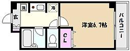 住吉ライフパンション[2階]の間取り