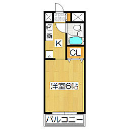 エクセレント林戸[2階]の間取り