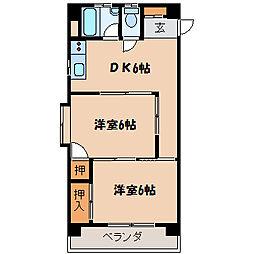 ダイワマンション[503号室]の間取り