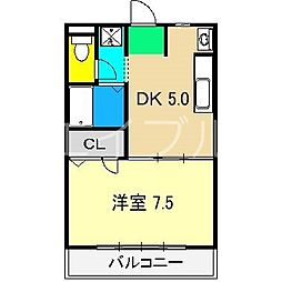 OTハウス[2階]の間取り