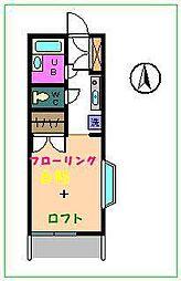 シティハイム恵浩[1階]の間取り