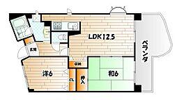 ピュアライフビル[8階]の間取り