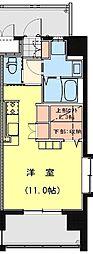 California APT ~カリフォルニア アパートメント~ 5階ワンルームの間取り