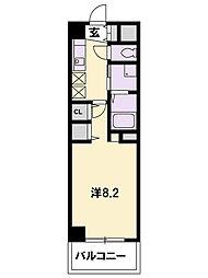 KDXレジデンス南草津[9階]の間取り