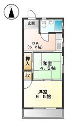 メイゾン平安[3階]の間取り