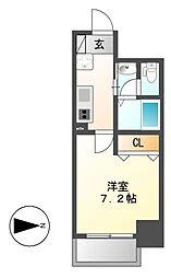 チェルトヴィータ[5階]の間取り