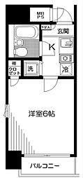 神奈川県横浜市南区永楽町1丁目の賃貸マンションの間取り