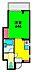間取り,1K,面積22m2,賃料6.9万円,みなとみらい線 元町・中華街駅 徒歩4分,JR京浜東北・根岸線 石川町駅 徒歩5分,神奈川県横浜市中区元町3丁目