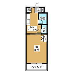 ファミーユIII[1階]の間取り