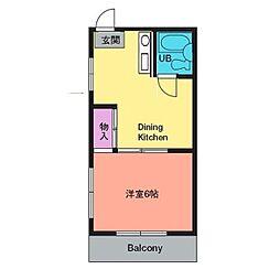 メゾン内田[2階]の間取り