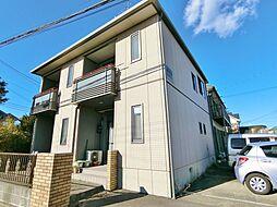 千葉県茂原市法目の賃貸アパートの外観
