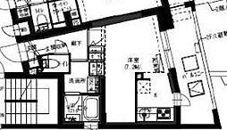 新築  B CITY APARTMENT SHINJYUKU NW[306号室号室]の間取り