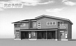 三重県松阪市西之庄町の賃貸アパートの外観
