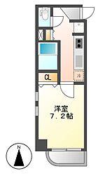 プロシード太閤通[7階]の間取り