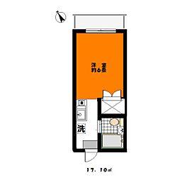 KSビル[302号室]の間取り