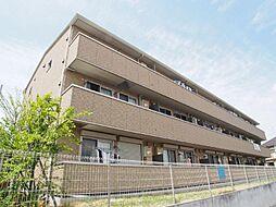 埼玉県越谷市蒲生愛宕町の賃貸アパートの外観