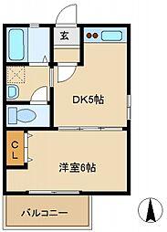 MIII[2階]の間取り