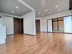 札幌市南区石山三条5丁目 戸建て 4LDKの居間