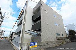福岡県北九州市戸畑区小芝3丁目の賃貸アパートの外観