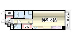 Rassure Kobe[302号室]の間取り