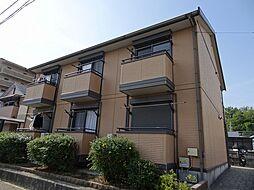 大阪府茨木市西豊川町の賃貸アパートの外観