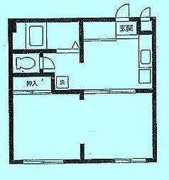 エコトピア[1階]の間取り
