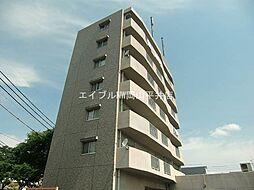 岡山県岡山市中区国富丁目なしの賃貸マンションの外観