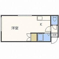 RaRa27[1階]の間取り